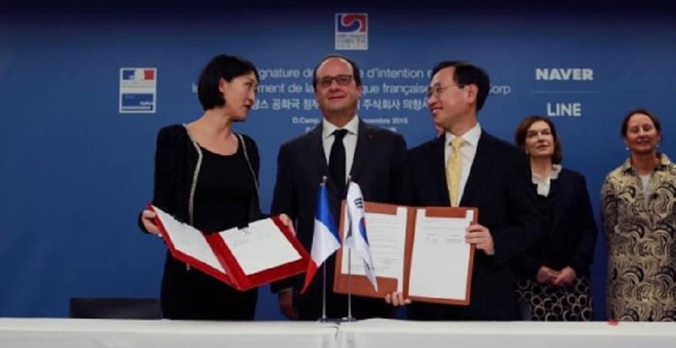 프랑스,네이버에 자국 문화유산 디지털화 맡겨