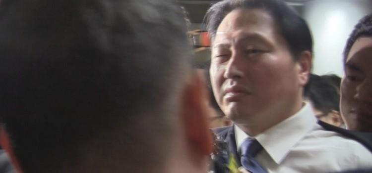"""SK그룹,안종범수석에 """"최태원회장 사면,하늘같은 은혜잊지 않겠다""""감사문자 보냈다"""