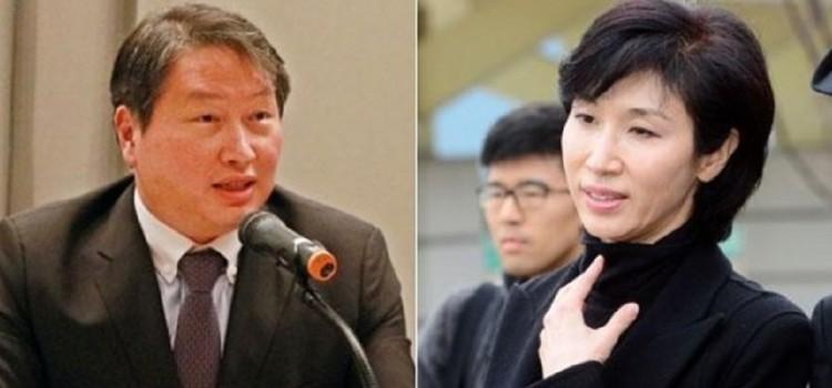 최태원 4년옥살이,노관장 MB에 수사청탁해 이뤄진 일,'충격'