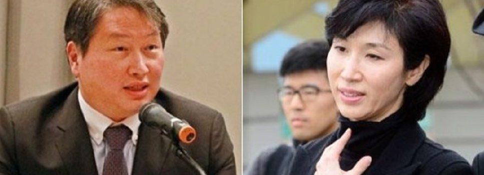 """노소영,최태원 혼외자식반발, """"이혼안해""""계열사 4개요구?"""