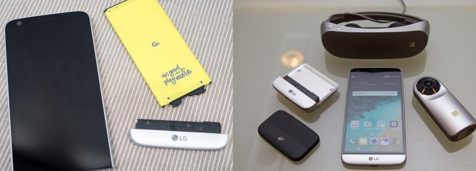"""LG G5,단차논란이어 이번엔 배터리흔들 유격논란,""""신제품 맞아?"""""""