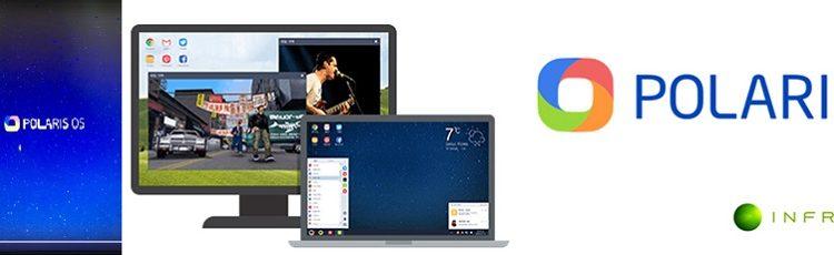 [피치원뷰]스마트폰 앱,이젠 화면큰 PC에서 바로 즐기세요,'폴라리스OS'화제