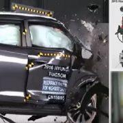 현대차,'투싼'수출용은 긴 범퍼빔,내수용은 짧은 범퍼빔장착,내수 역차별 비난여론폭주