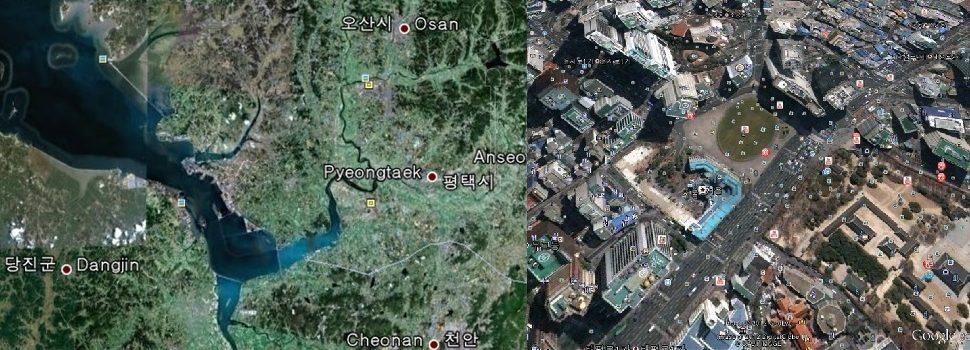 """정부,구글의 남한 정밀 디지털지도 해외반출 요청에 '불가'결정,산업계 """"옳은 결정""""대환영"""