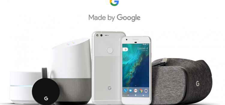 [피치원뷰]스마트폰∙구글홈 'made by google',글로벌 IT시장 천하통일 선언,삼성∙애플 초비상