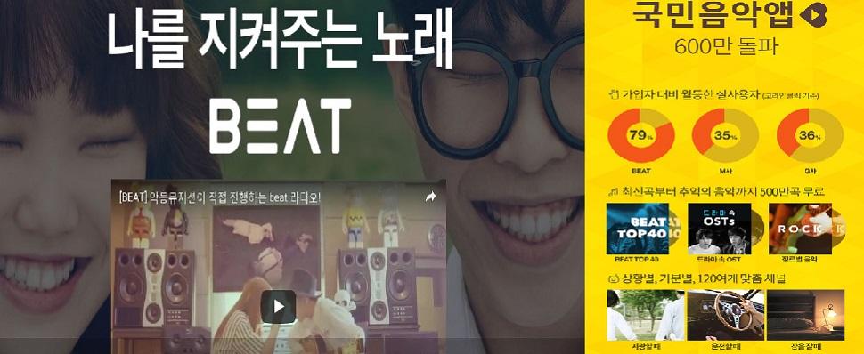 """""""아,비트가 서비스중단이라니!!""""600만앱 다운로드 국민음악앱 '비트',3년만에 서비스중단"""