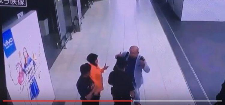 순식간에…일본언론,김정남 피습 당시 CCTV 동영상 첫 공개