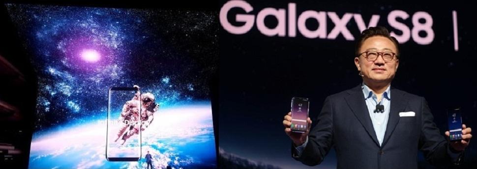 """갤럭시S8,삼성전자 예약판매도 하기전에 벌써 사전예약 광풍 북새통,""""역대 최강 흥행돌풍 시작"""""""
