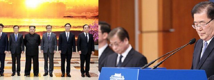 [피치원뷰]문재인 정권의 눈부신 외교력,대북특사 메시지에 국내외 찬사가 쏟아지다