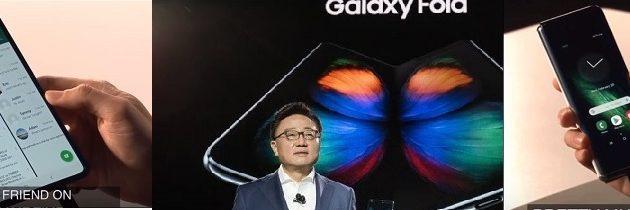 삼성전자 폴더블폰 화려한 데뷔,'HW혁신 끝판왕'호평,3년간 8000만대 판매전망