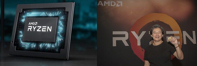 AMD 전력 35W급 '라이젠'프로세서,90W급 인텔칩 성능앞섰다,저무는 인텔 CPU시대