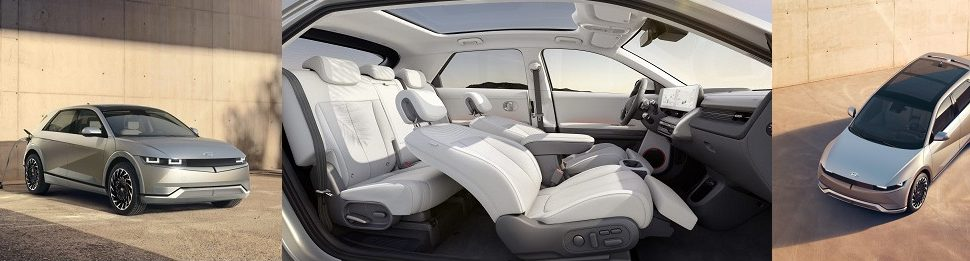 현대차,테슬라에 도전장,아이오닉5 전격공개,1회충전 최대주행 실제 350km불과