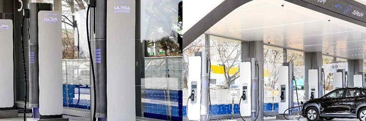 15일 운영개시 고속도로 휴게소 72개 초급속 전기차충전기,테슬라만 쏙빠진 이유